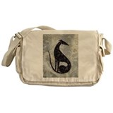 Cute Whippet Messenger Bag