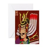 Samurai Faith In You Greeting Card