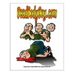 Official Dead Body Guy Small Poster
