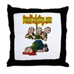 Official Dead Body Guy Throw Pillow