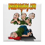 Official Dead Body Guy Tile Coaster