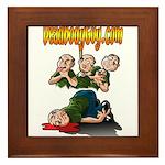 Official Dead Body Guy Framed Tile