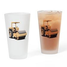 Paving Machine Drinking Glass