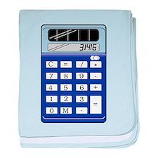 Calculator baby blanket