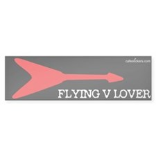 Flying V Lover Bumper Bumper Sticker