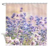 Pretty Lavender Shower Curtain
