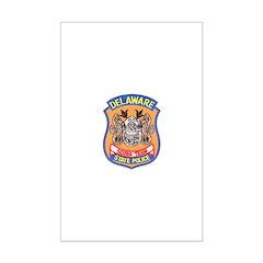 Delaware State Police Scuba T Mini Poster Print