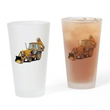 Earth Mover Drinking Glass