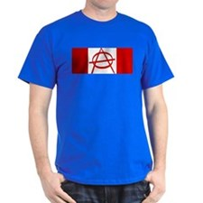 Anarchy Canada Flag T-Shirt