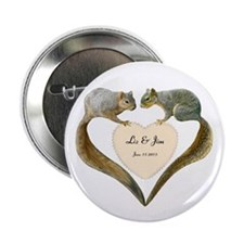 "Love Squirrels 2.25"" Button (10 pack)"