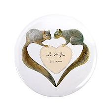 """Love Squirrels 3.5"""" Button"""