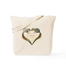 Love Squirrels Tote Bag