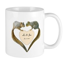 Love Squirrels Small Mugs