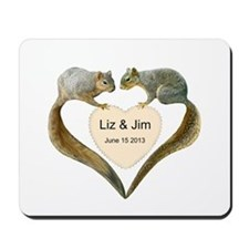 Love Squirrels Mousepad