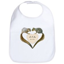 Love Squirrels Bib