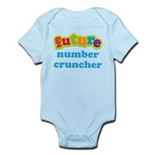 Future Number Cruncher Infant Bodysuit