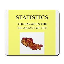 statistics Mousepad