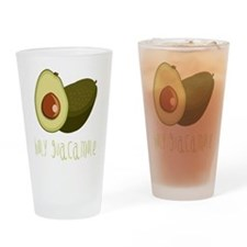 Holy Guacamole Drinking Glass