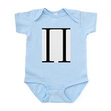 Greek Pi symbol Infant Bodysuit