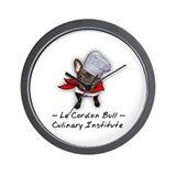 Le Cordon Bull Wall Clock