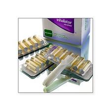 Nicotine inhalator - Square Sticker 3