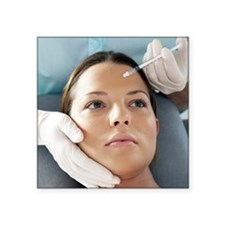Botox treatment - Square Sticker 3