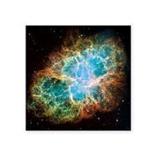 Crab nebula (M1) - Square Sticker 3
