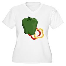 Bell Pepper Plus Size T-Shirt