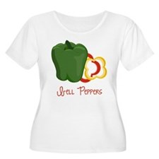 Bell Peppers Plus Size T-Shirt