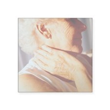 Neck pain - Square Sticker 3