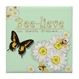 Bee-lieve Tile Coaster