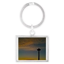 A Needle In Space Landscape Keychain