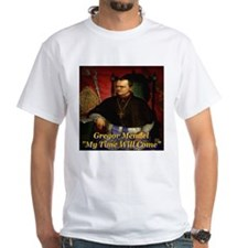 Gregor Mendel My Time Will Co Shirt