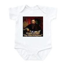 Gregor Mendel My Time Will Co Infant Bodysuit