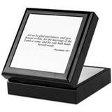 Revelation 19:7 Keepsake Box