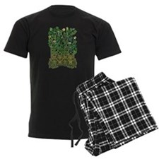 Celtic Shamrock Pajamas