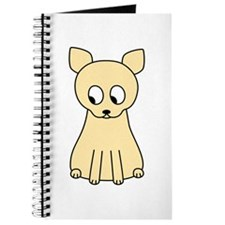 Cream Color Cat. Journal