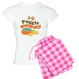 Puggle Mommy Dog Mom pajamas