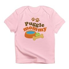 Puggle Mommy Dog Mom Infant T-Shirt