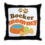 Bocker Mommy Pet Mom Throw Pillow