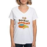 Bocker Mommy Pet Mom Women's V-Neck T-Shirt
