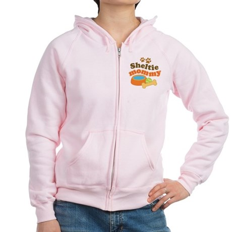Sheltie Mommy Women's Zip Hoodie