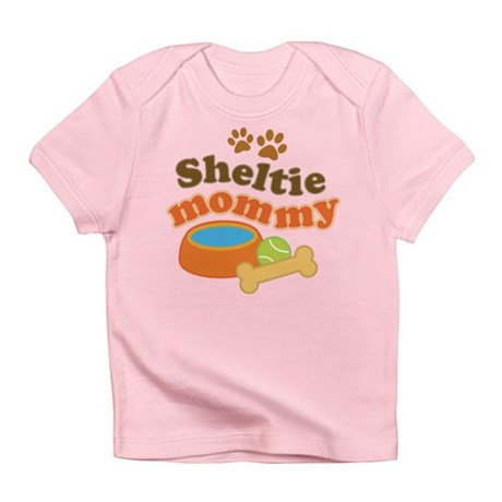 Sheltie Mommy Infant T-Shirt