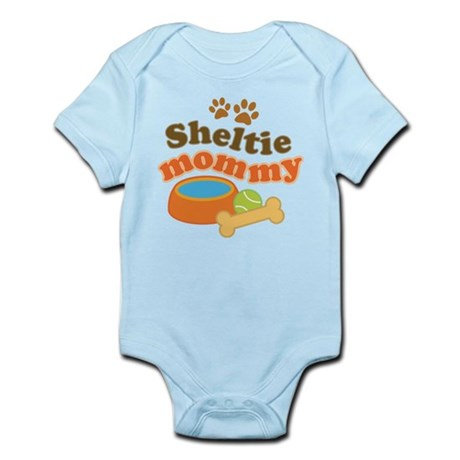 Sheltie Mommy Infant Bodysuit