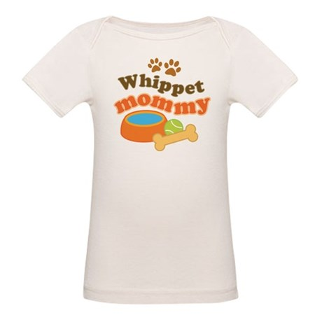 Whippet Mommy Organic Baby T-Shirt