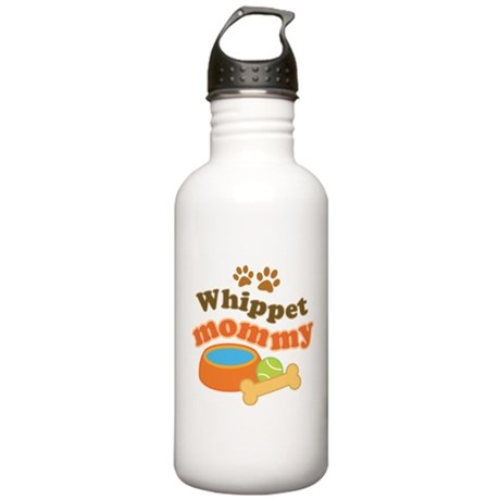 Whippet Mommy Stainless Water Bottle 1.0L