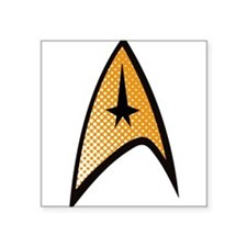 Star Trek Uniform Command Insignia halftone Sticke