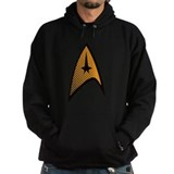 Star Trek Uniform Command Insignia halftone Hoodie