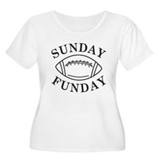 Sunday Funday Plus Size T-Shirt