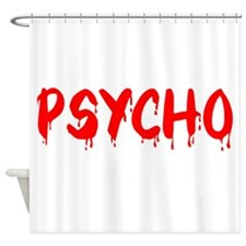 Unique Psychopath Shower Curtain
